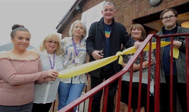 FAMS volunteers at opening