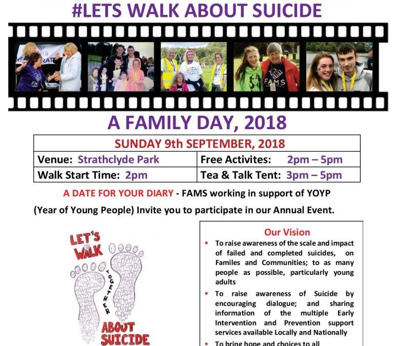 Let's Walk and Talk Date 2018
