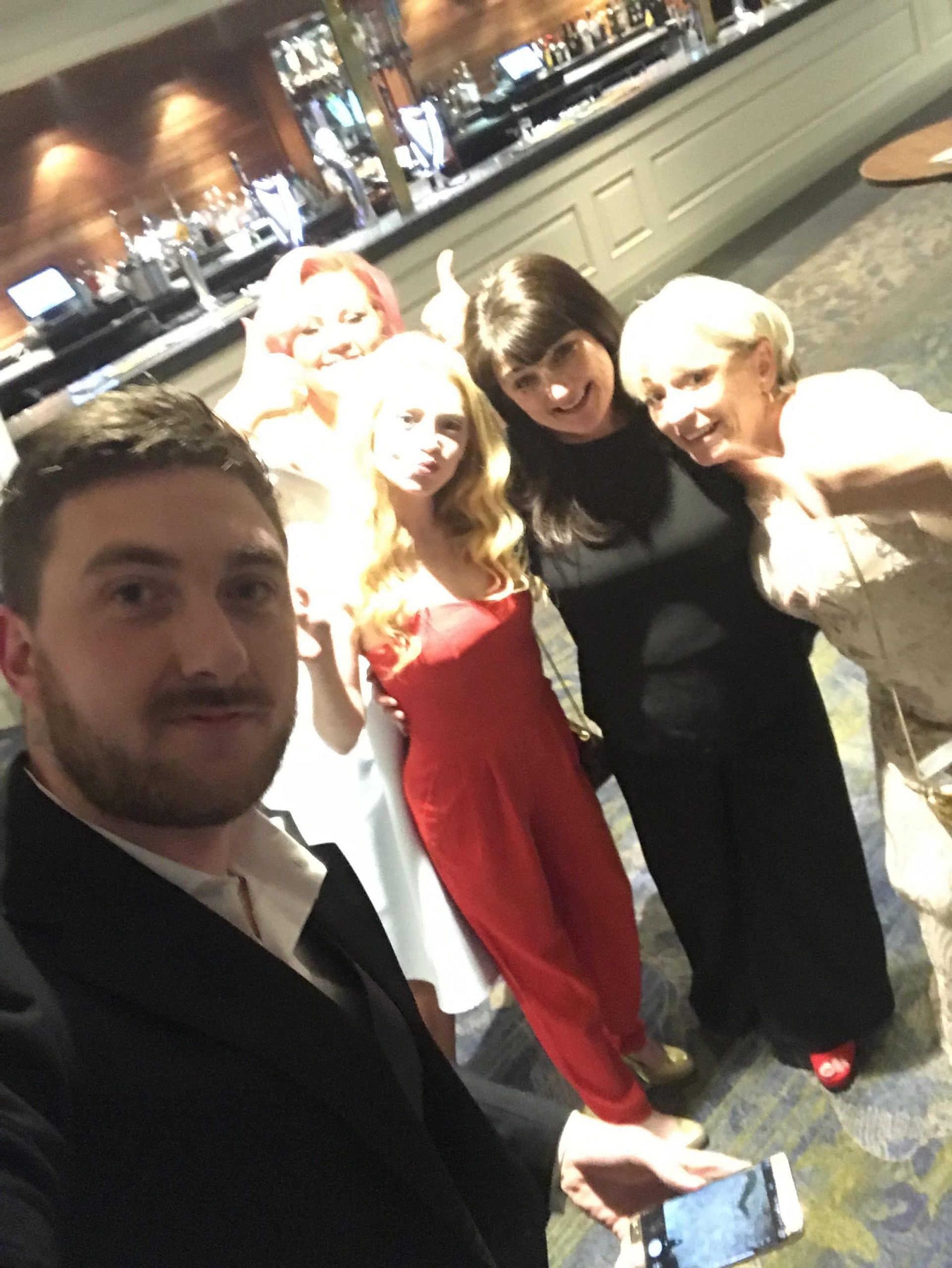 FAMS group photo at awards