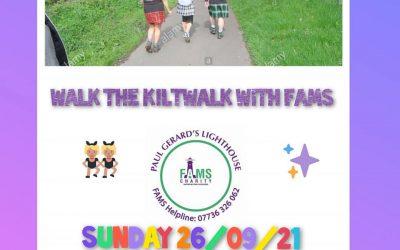 Walk The Kiltwalk With FAMS
